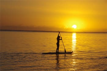 Stand up Paddle Lagon île Réunion