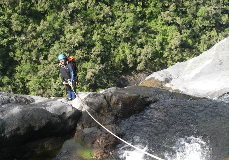 Canyoning and Rock climbing in Reunion